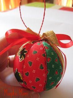 Fai da te! Come creare una pallina natalizia in polistirolo