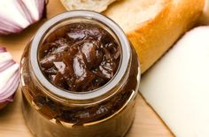 Onion chutney recipe - it takes under 1 hour to make, but this preserve will last for a whole year! Make sure you make plenty to give away as presents! Only 8 ingredients needed!