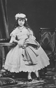 Princess Beatrice, youngest daughter of Queen Victoria of England