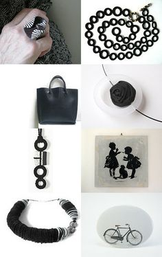 Black is always a good choice by Sara on Etsy--Pinned with TreasuryPin.com
