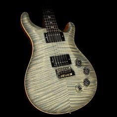 Used 2010 Paul Reed Smith Private Stock DGT David Grissom Guitar White Tiger Burst