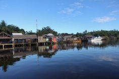 L'embarcadère de Soanerania Ivongo pour l'ile Sainte-Marie #Madagascar ©Salaün Holidays