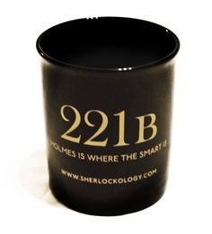 """221B """"Holmes is where the smart is."""" Clever. So very clever. I need this..."""