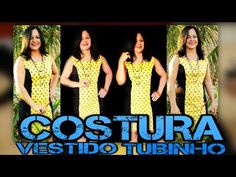 COMO COSTURAR: Vestido Tubinho com Recorte Princesa - SEM OVERLOQUE #VEDA 2 - YouTube