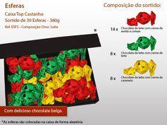 Já conhece as nossas Esferas de Chocolate?  Pode personalizar o sortido e a caixa. Veja mais em: http://www.mysweets4u.com/pt/?o=1,5,44,46,0,0