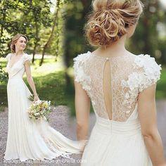 vestido de novia aire libre - Buscar con Google
