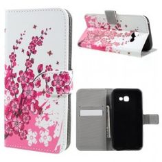 Pattern Printing Leather Flip Case for Samsung Galaxy - Plum Flowers Mobiles, Plum Flowers, Android, A5, Galaxies, Samsung Galaxy, Phone, Leather Wallet, Prints