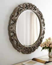 similar mirror...to paint turquoise? pink? yellow?