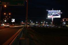 LED pasy a  nadstavby na veľkej ploche