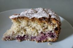 REAL LIFE: Coconut and raspberry cake