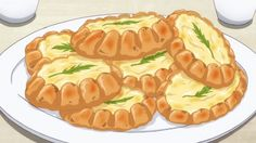Little Witch Academia, Episode 16 Anime Bento, Real Food Recipes, Yummy Food, Cute Food Art, Watercolor Food, Food Wallpaper, My Best Recipe, Food Drawing, Aesthetic Food