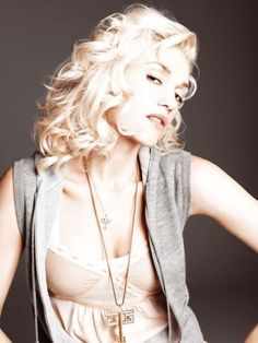 I know I want to go blond but maybe I need to cut my hair too. Damn it Gwen, you are always so far ahead of the game.