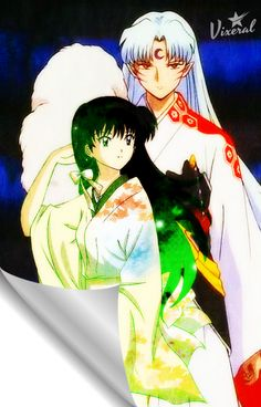 One of my favorite loveteam: Rin and Lord Sesshomaru.   Just to let you know, for this art, Rin's picture is not mine...so credits to the owner!    I just want to say ...