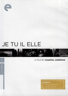 In her provocative first feature, Chantal Akerman stars as an aimless young woman who leaves self-imposed  isolation to embark on a road trip that leads to lonely love affairs with a male truck driver and a former girlfriend. With its famous real-time carnal encounter and its daring minimalism, Je tu il elle is Akerman's most sexually audacious film