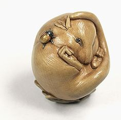 netsuke carvings | Netsuke carving