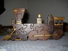puzzle locomotora - Mis obras - User Gallery - Scroll Saw Village