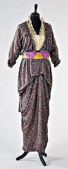 Poiret dress ca. 1912
