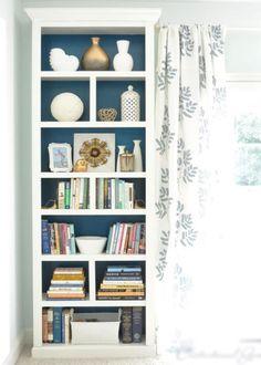 La bibliothèque Billy aux couleurs apaisantes - Marie Claire Maison