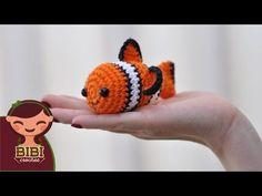 How to Crochet Clown Fish Crochet Fish, Crochet Quilt, Crochet Animals, Diy Crochet, Crochet Crafts, Crochet Toys, Crochet Baby, Crochet Projects, Loom Patterns