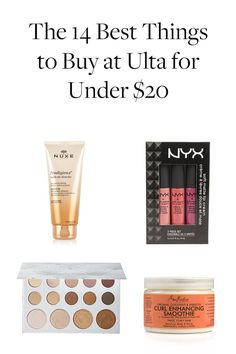 The 14 Best Things to Buy at Ulta If You Only Have $20 via @PureWow