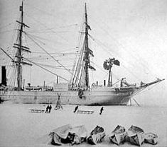 RRS Discovery (1901), Dundee, Scotland. boat.jpg Used by explorer Ernest Shackleton. Discovery shown here in Antarctica.
