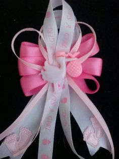 Baby Shower Corsages Girl capias for Guest For One by LiviWear, $15.00
