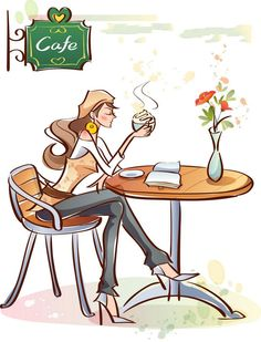 A good book and a coffee