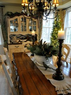 Christmas Home Tour 2016 – Dining Room