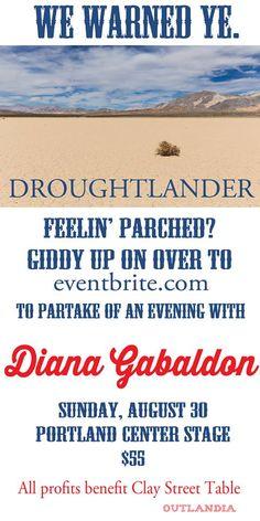 Fun evening planned! Silent auction, Highland Dancers, & @Writer_DG !  #Outlander #Outlandia pic.twitter.com/JtRpAHf84B
