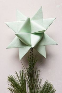 Origami Star With Five Intersecting Tetrahedra Origami