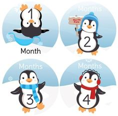 Penguin #33 Boy Baby Month Stickers for Bodysuit Digitaldoodlebug http://www.amazon.com/dp/B007P7H0JU/ref=cm_sw_r_pi_dp_fYoXub01F47R5