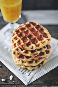 Waffles LIEGEOISES (Liege waffles are the best waffles on the planet! Cooking Chef, Cooking Recipes, Belgian Food, Pancakes And Waffles, Croissants, Crepes, Coco, Sweet Recipes, Biscuits