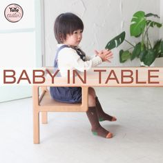 YoYo atelier | BABY IN TABLE  #babyintable #evolvingbabyfurniture #japanesedesign #kidsdesign #tavolinoperbambini . Click through right now to read the entire post!