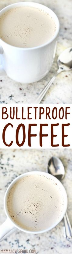Learn how to make delicious and simple Bulletproof Coffee with this easy recipe! Just good coffee, butter, and coconut oil!