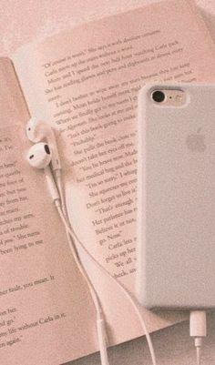 I Phone 7 Wallpaper, Book Wallpaper, Music Wallpaper, Galaxy Wallpaper, Peach Aesthetic, Book Aesthetic, Aesthetic Collage, Aesthetic Vintage, Black Aesthetic Wallpaper