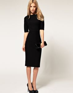 You can't go wrong with a (not too) little black dress!