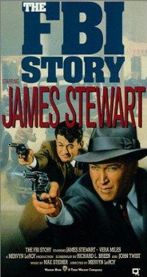 The FBI Story (1959) Poster-----A dedicated FBI agent recalls the agencys battles against the clan, organized, crime, and communists spies, and family tragedies.
