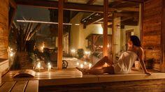 90 Grad Almsauna Hütte im Sporthotel Alpenblick in Zell am See Zell Am See, Sauna, Grad, Mirror, Home Decor, Homemade Home Decor, Mirrors, Decoration Home, Vanity