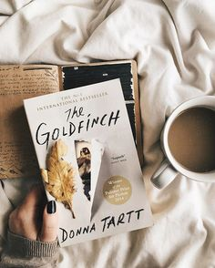 Spending my Sunday afternoon with my current read, my journal & a hot cup of coffee  . I'm loving The Goldfinch, even though I'm only a couple of chapters in, Donna Tartt's beautiful writing just captivates every time I get a chance to read ♡ . How's your weekend going lovelies? What have you been reading?