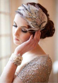 Acessório para noivas poderosas