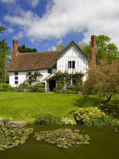 Lower Brockhampton House, the medieval manor house on the Brockhampton Estate in Worcestershire, England