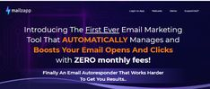 Mailzapp System Review + OTO - by Madhav Dutta - Brand New System App Email Marketing Tool Gold For 2021 That Consist Ai Based Email Marketing Platinum Platform That Help You To Achieve Your Desired Open Rate & Click-Through Rate At Zero Monthly Fee, Smtp Servers Including Automatically Optimizing And Managing Your Email Lists For You, Getting You The Results You Deserve And Saving You Hours Of Work Each Week Email Marketing Tools, Email Campaign, Call To Action, Email List, You Deserve, Machine Learning, Save Yourself, Online Business