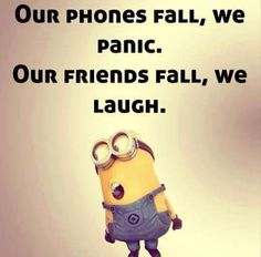 Top 21 Funny Quotes Whatsapp – Hilarious Memes And Super Humor In Life – Minions quotes Funny Minion Memes, Minions Quotes, Memes Humor, Funny Texts, Minion Humor, Hilarious Memes, Minion Stuff, It's Funny, Minion Things