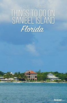 It's just a short 3 hour flight from Toronto to a Paradise. Sanibel Island features the most beautiful white sand beaches, a casual food scene and more shells than any sheller can possibly collect. In this article we share all the things to do and see on Sanibel Island Florida. | Beach Vacation | Sanibel Island | Florida | USA | Beach | Shells | Beaches of Fort Myers and Sanibel Islands |