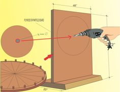 I love tools and making things- How to Make you own Wheel of Fortune: 20 steps (with pictures) - wikiHow