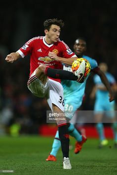 <a gi-track='captionPersonalityLinkClicked' href='/galleries/personality/7096006' ng-click='$event.stopPropagation()'>Matteo Darmian</a> of Manchester United during the Barclays Premier League match between Manchester United and West Ham United at Old Trafford on December 05, 2015 in Manchester, England.