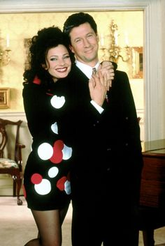 "Fran Drescher and Charles Shaughnessy, ""The Nanny"""