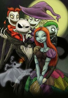 ~The Ghostly Dual Of ..The Nightmare Before Christmas Again ~†