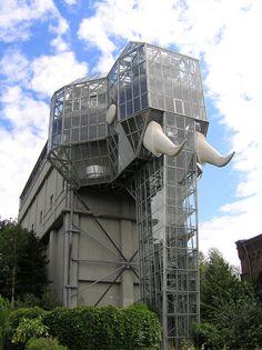 Unusual Greenhouse - Hamm, Nordrhein-Westfalen, Germany