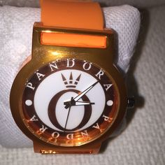 Pandora Orange Watch Fabulous Pandora Orange watch Accessories Watches